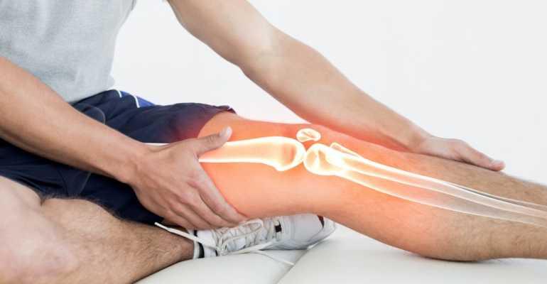 Как снять боль в коленном суставе в домашних условиях