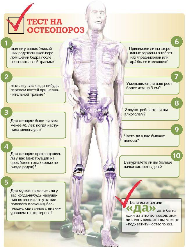 Способы лечения и профилактики остеопороза стопы