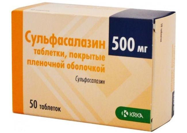 Действие препарата Сульфасалазин при ревматоидном артрите