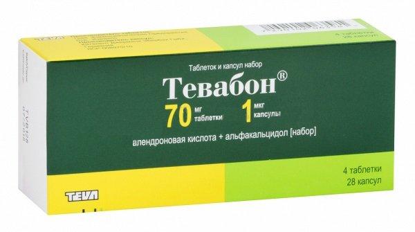 Эффективный препарат для борьбы с остеопорозом — Тевабон