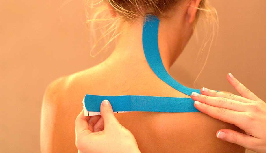 Использование синтетических или хлопковых эластичных лент при остеохондрозе