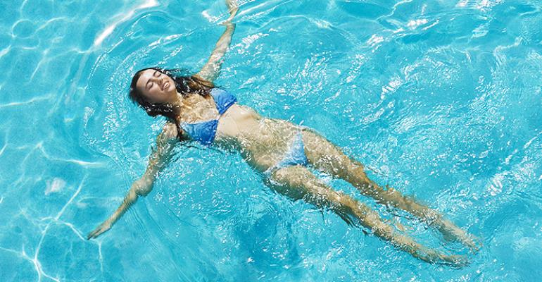 Упражнения для поясничного отдела спины в бассейне