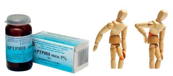 Лекарственное средство группы хондропротекторы Артрин