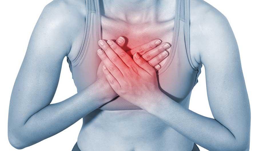 Грудной остеохондроз боль в легких