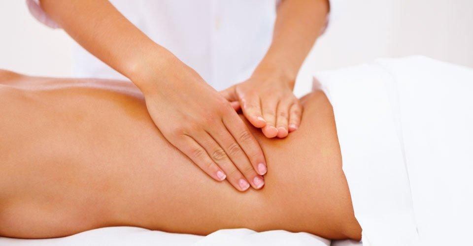 Массаж как средство для лечения остеохондроза