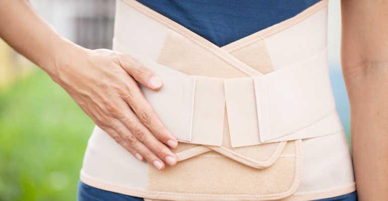 Пояс при остеохондрозе поясничного отдела позвоночника