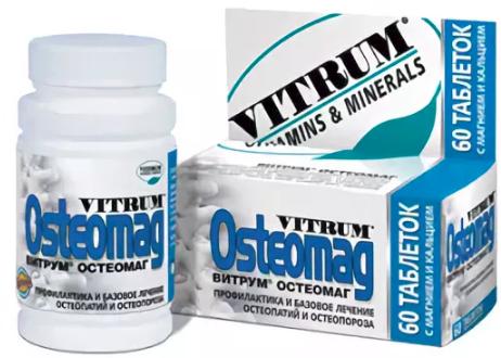 Описание и действие витаминного комплекса Витрум Остеомаг