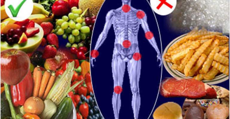 Основные принципы питания при заболевании остеоартроз