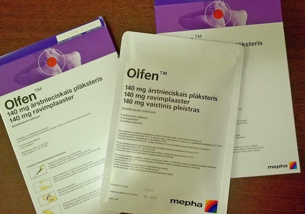 Особенности препарата Олфен — правила применения и отзывы