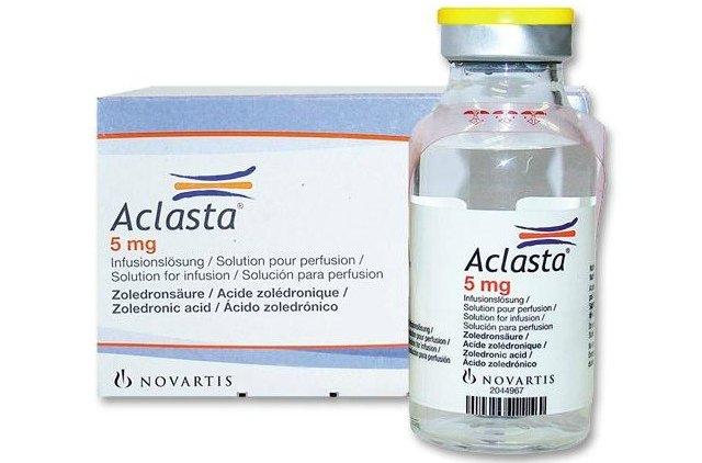 Особенности применения Акласты и отзывы об использовании препарата