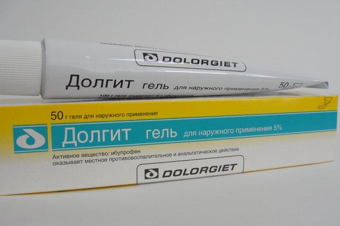 Подробно о применении и эффективности мази Долгит