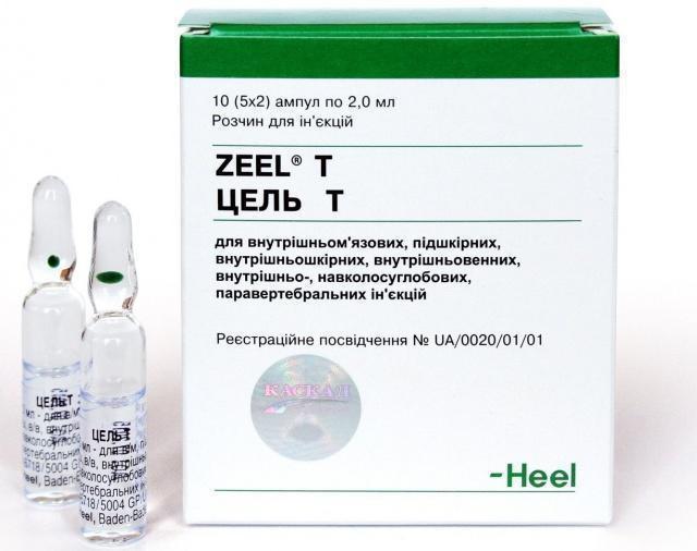 Препарат Цель-Т для лечения опорно-двигательного аппарата