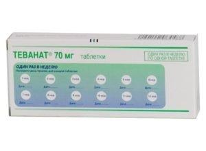 Препарат который увеличивает плотность костей Теванат