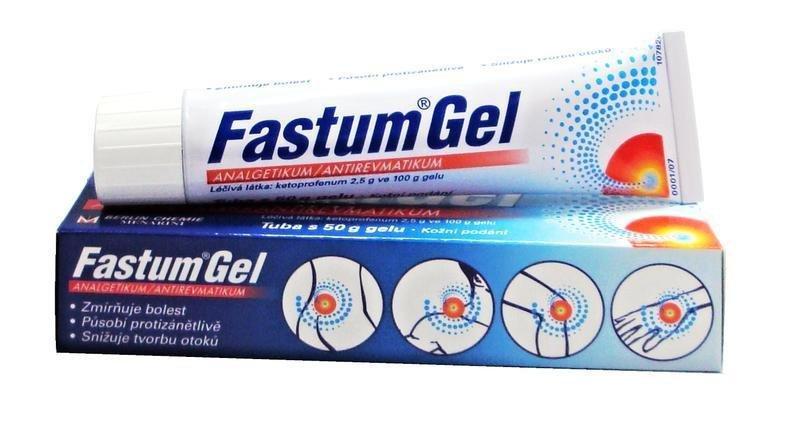 Самый популярный противовоспалительный препарат — Фастум гель