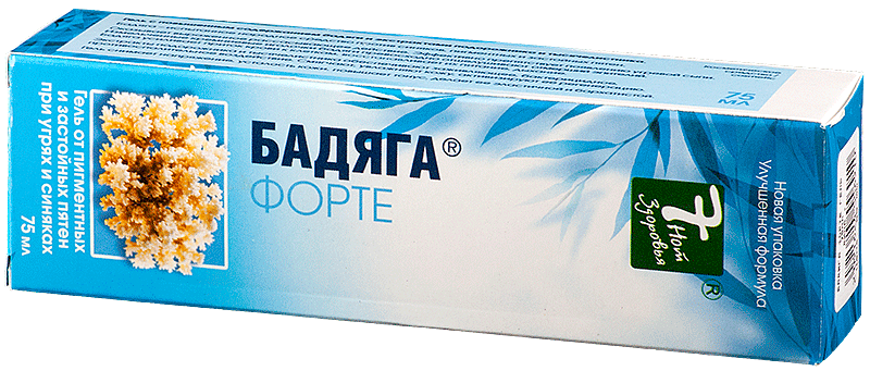 Бадяга форте гель 75мл - цена 85 руб., купить в интернет аптеке в Томске Бадяга форте гель 75мл, инструкция по применению, отзывы