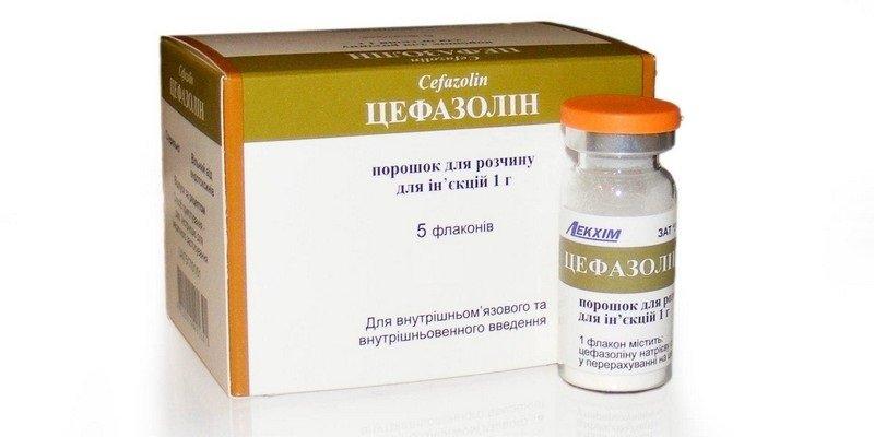 Все о препарате Цефазолин — способы применения, дозировки и хранение
