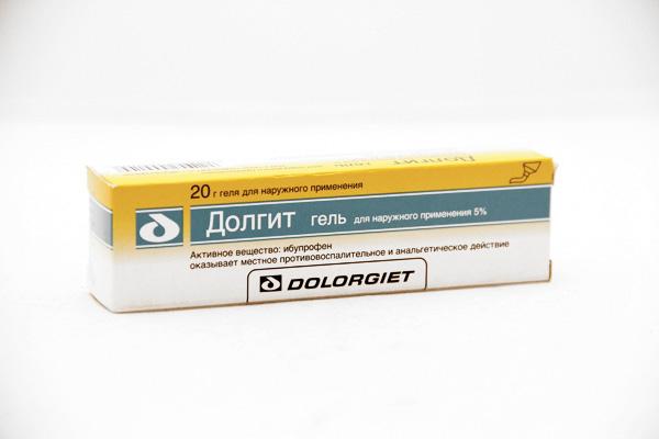 Выбор между кремом или гелем Долгит